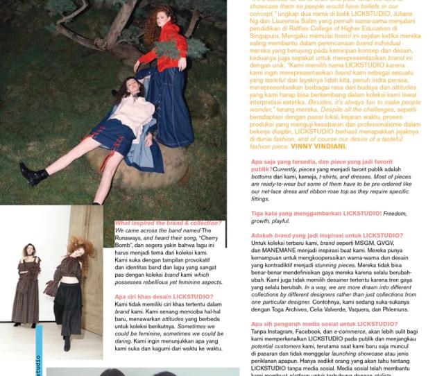 Interview Nylon Magazine Indonesia October