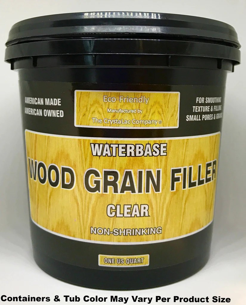 Transparent Grain Filler