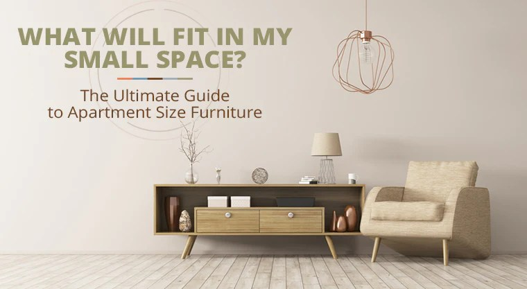 apartment size and small space furniture