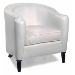 Tub Accent Chair Graco 4 In 1 High Romana Contemporary Leather Chairs And Chaise