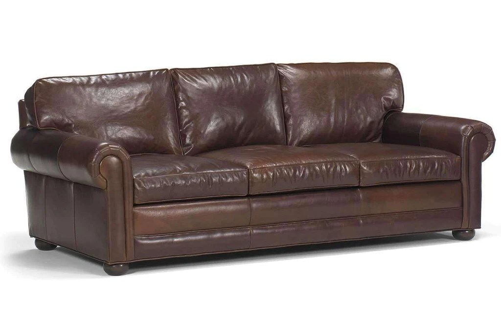 sheffield leather sofa deep seated