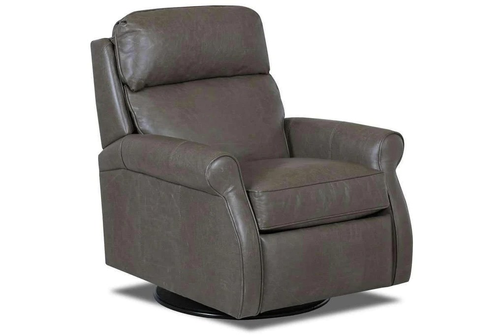 pop up recliner chairs table and chair kirby swivel leather back