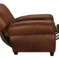 Reclining Club Chair Desk Chairs No Wheels Leather Recliners Handcrafted Modern Traditional Parker Recliner