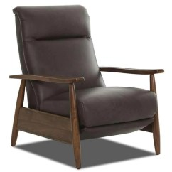 Reclining Club Chair Braided Pads For Kitchen Chairs Mid Century Modern Recliner Peter Leather On Sale Tight Back