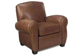 reclining club chair bed pillow backrest leather recliners handcrafted chairs modern traditional recliner sebastian