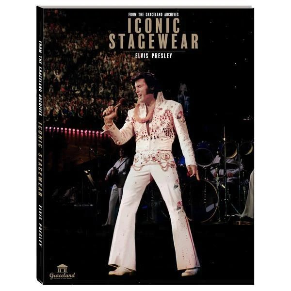 Elvis Presley Iconic Stagewear Hardcover Book Graceland