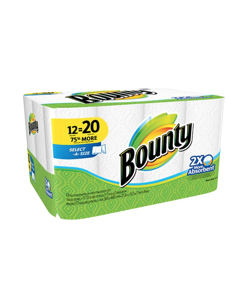 Home Cleaning Supplies   Bounty Mega Roll Sheets   Discount Essentials