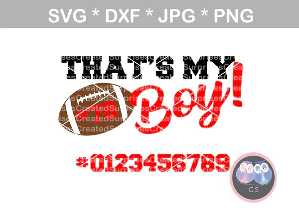 Download Thats My Boy, all numbers included, Football, sport, ball ...