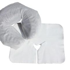 Disposable Folding Chair Covers Bulk Lawn Repair Kits Premium Face Cradle Liners Headrest For