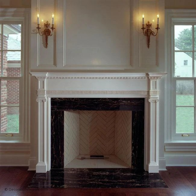 15 Colonial Fireplace Design Ideas Compilation Fireplace Ideas 15 Classic Style Fireplace Mantels Built To Your Box