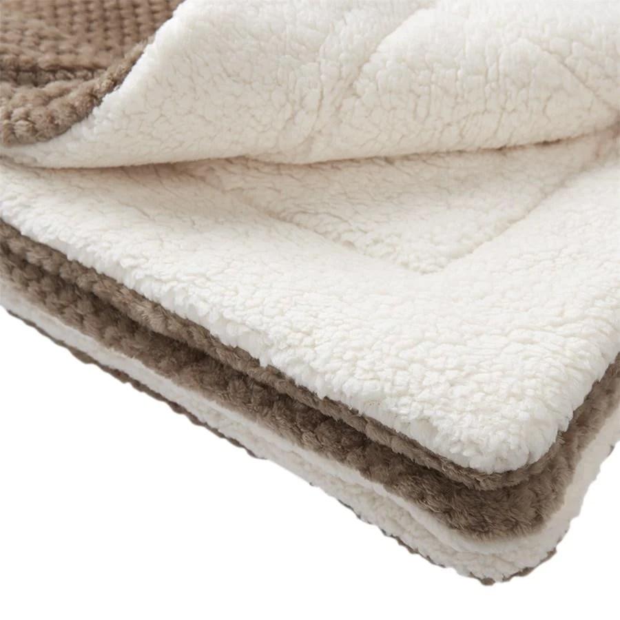 tapis polaire pour cochon d inde cachemire