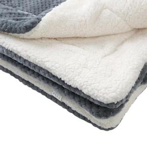tapis polaire pour cochon d inde bleu gris