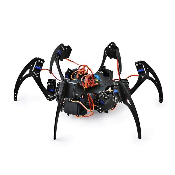 Abs Sensor Schematic Hexapod 6 Leg Spider Robot Sainsmart Com