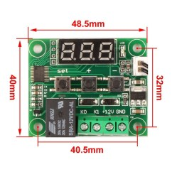 Digital Temperature Controller Wiring Diagram Club Car Headlight 39 50 110c W1209 Thermostat Control