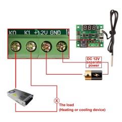 Digital Temperature Controller Wiring Diagram 1999 Suzuki Sv650 39 50 110c W1209 Thermostat Control