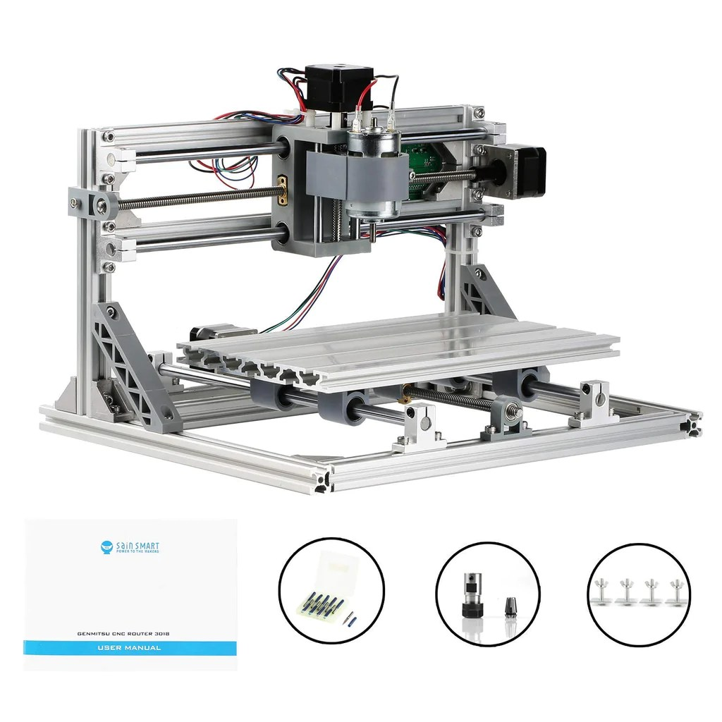 small resolution of  sainsmart genmitsu cnc router pro diy kit
