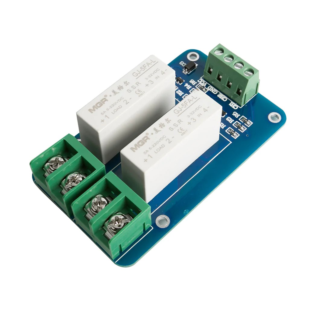 small resolution of  2 channel dc dc 5v 220v 5a solid state relay
