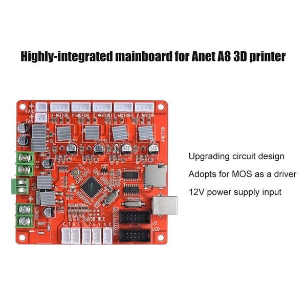 Ramps 1 4 Wiring Diagram Motherboard For Anet A8 3d Printer Reprap Prusa I3 Kit