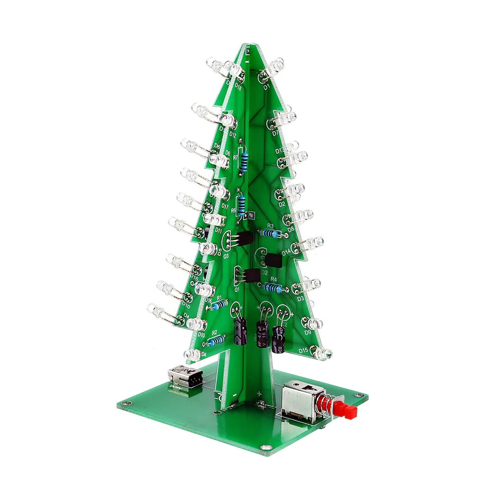 Digital Christmas Candle Light Circuit Electronic Circuit Projects