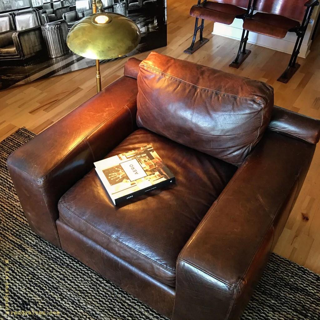 alex chair arhaus swing canada leather  loris decoration