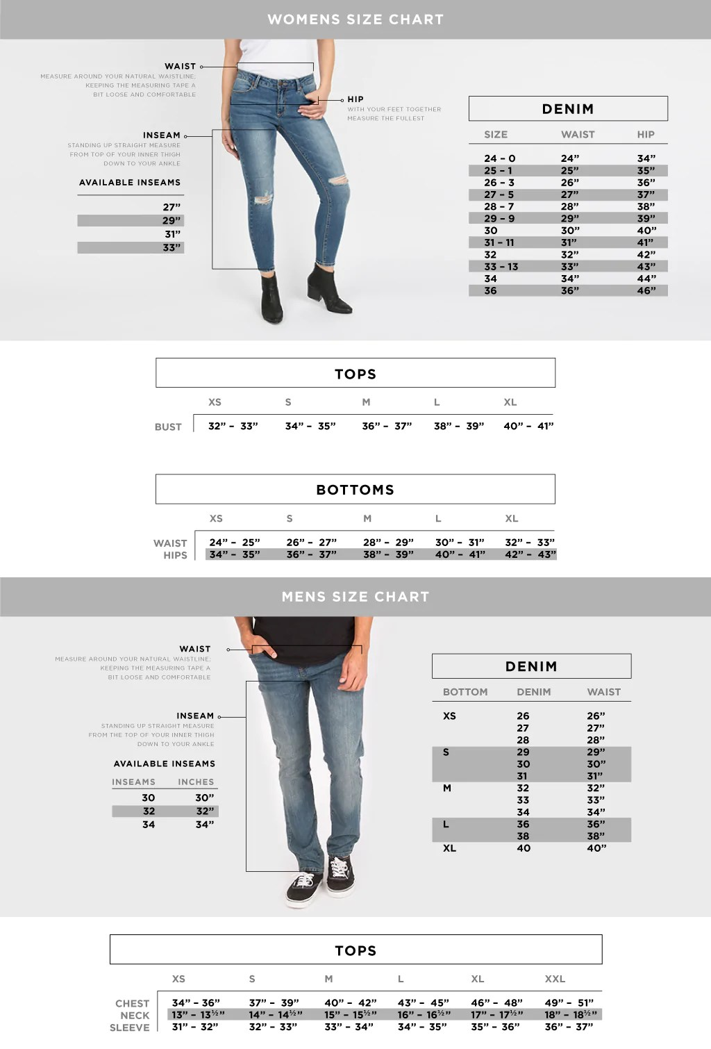 American Eagle Shorts Size Chart : american, eagle, shorts, chart, Charts, Bluenotes, Aéropostale