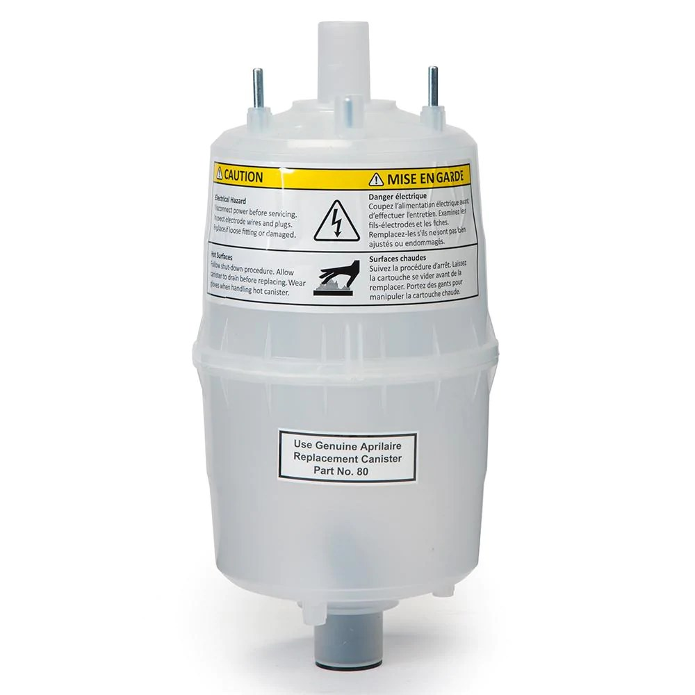 medium resolution of aprilaire 80 steam canister for steam humidifier model 800