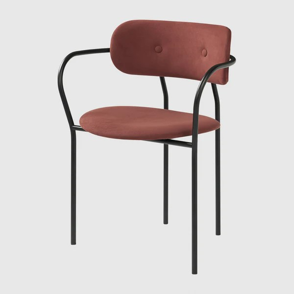 dining chair with armrest ergonomic reasons coco gubi webshop