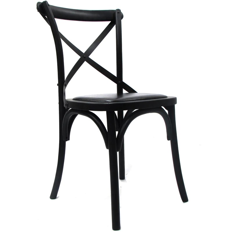 black cross back dining chairs flip and fold high chair amazing interiors nz