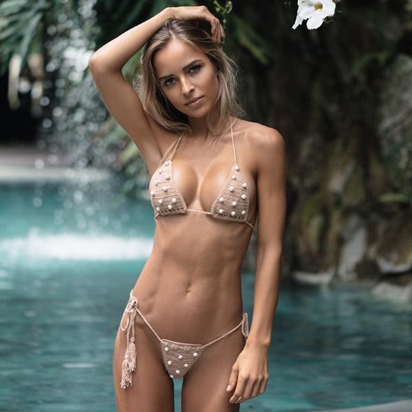 Russian Girl Swimsuit Wallpaper Lombok Pearl Bikini Andi Bagus