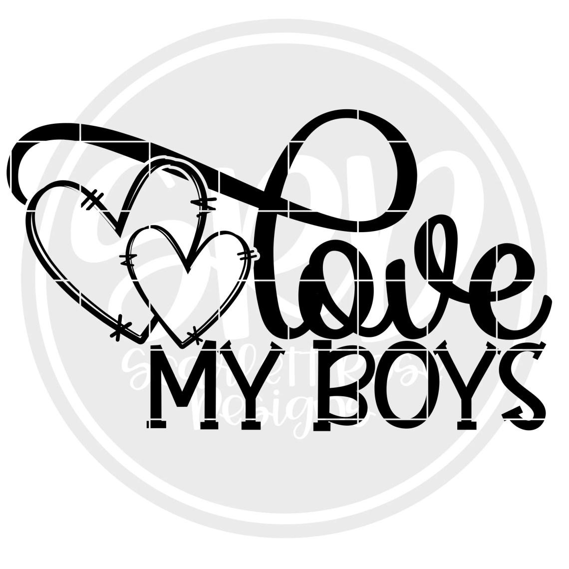 Download Valentine's Day SVG, Love My Boy SVG - Valentine ...