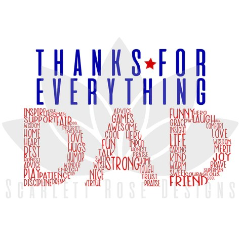 Download Father's Day SVG cut files - Scarlett Rose Designs