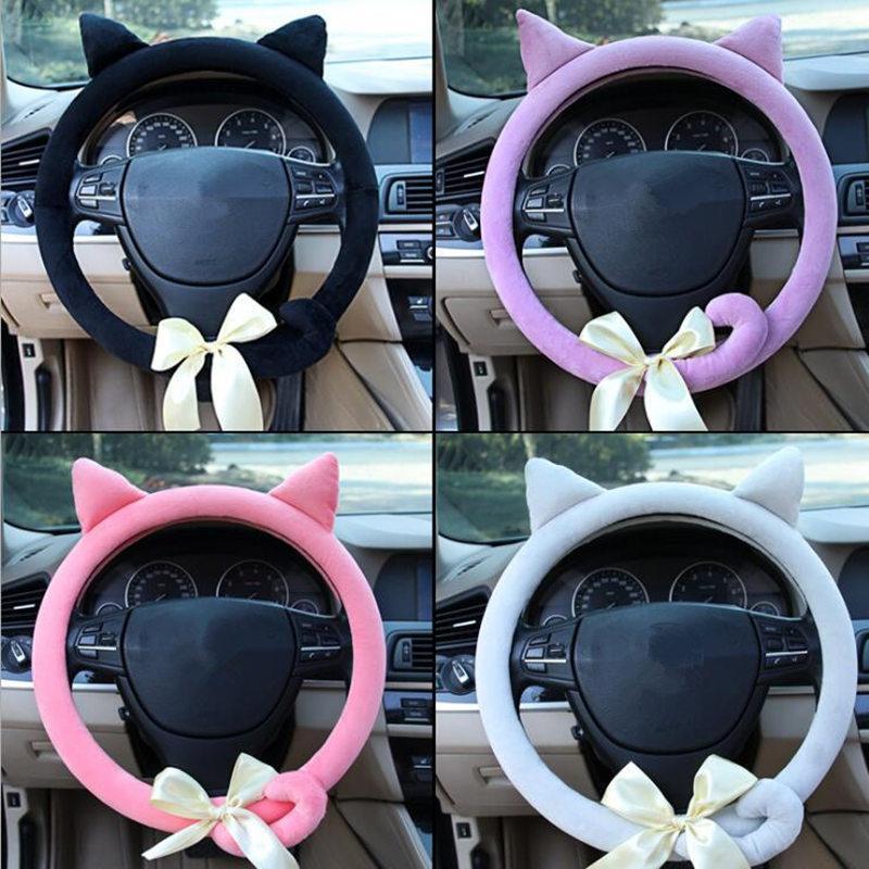 cat kitten steering wheel