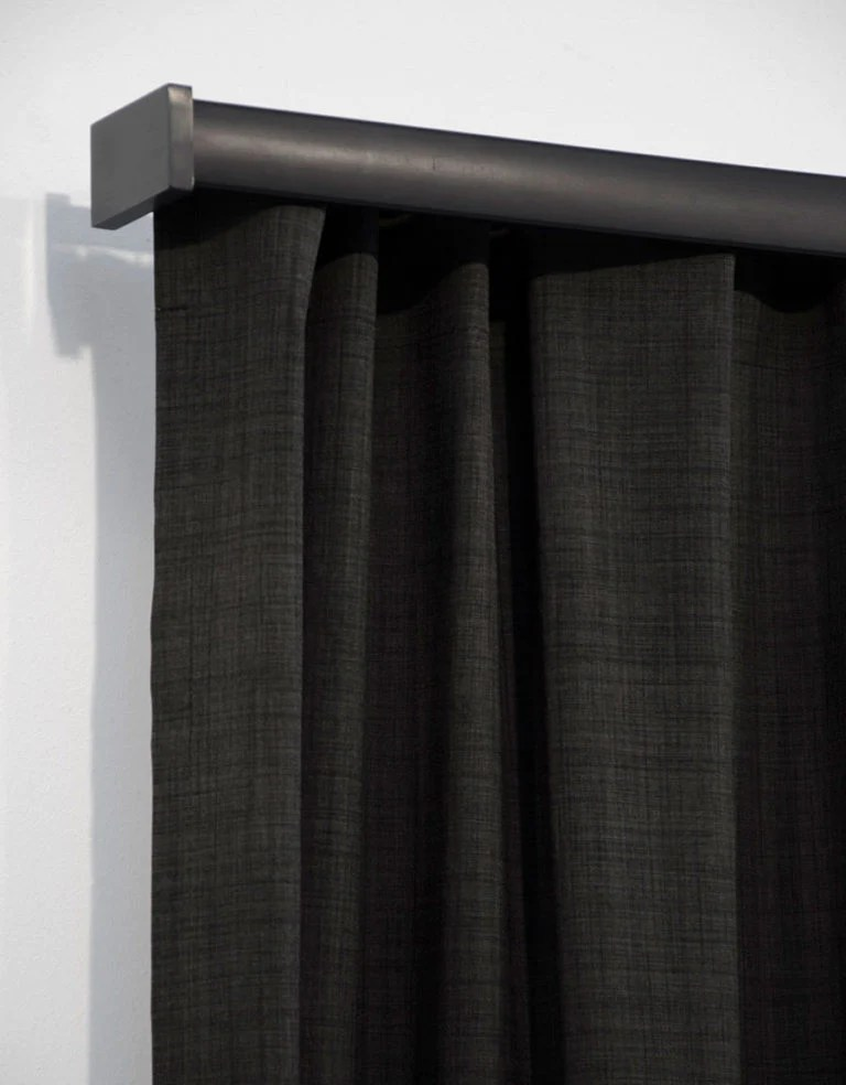 Letus Dark Grey Curtains Blackout Curtains Koikaa