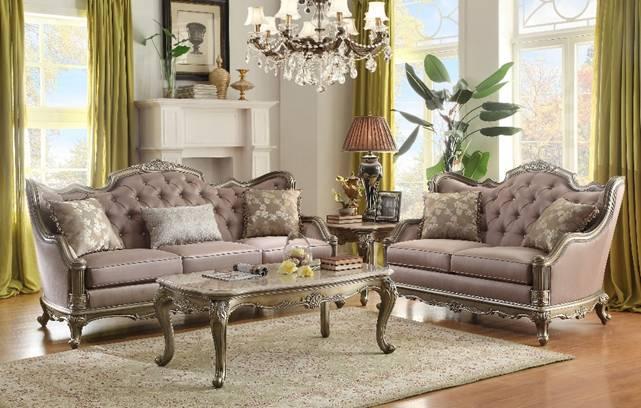 Florentina Living Room Set By Homelegance Furniture