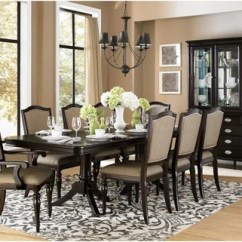 Dining Room Sets 6 Chairs Chair Covers Pattern Marlo Furniture Find Homelegance Marston Dark Cherry Table And Side At
