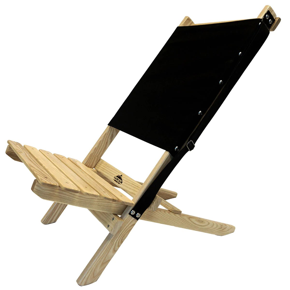 wood beach chairs la z boy computer chair ash cascade mountain tech