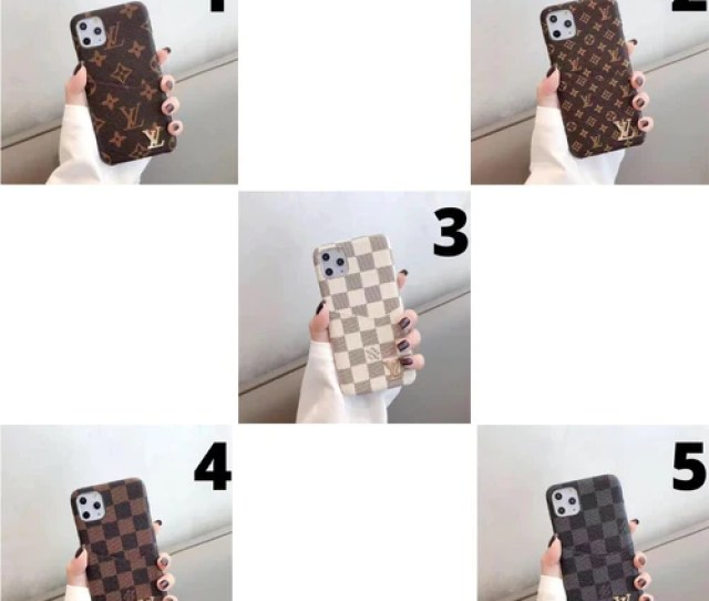 Gucci Leather Phone Case For Iphone 6 6s