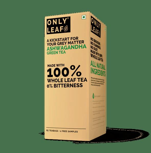Buy Ashwagandha Green Tea Online | OnlyLeaf Green Tea