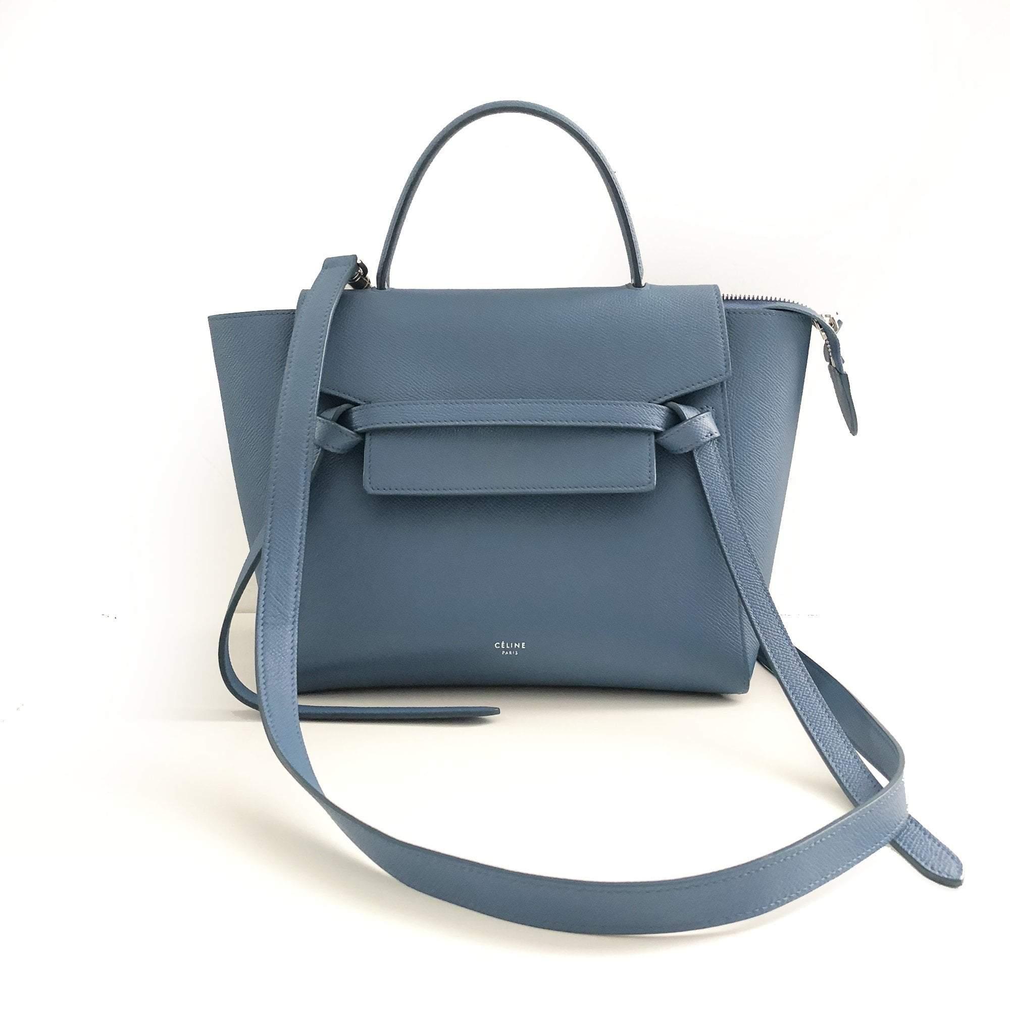 Celine Micro Belt Bag In Grained Calfskin – Garderobe