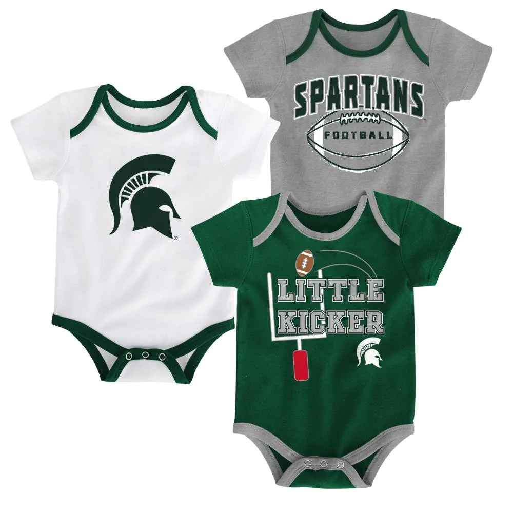 9be27eda Newborn Infant Boys 3 Pack Bodysuits Iowa State - Year of Clean Water