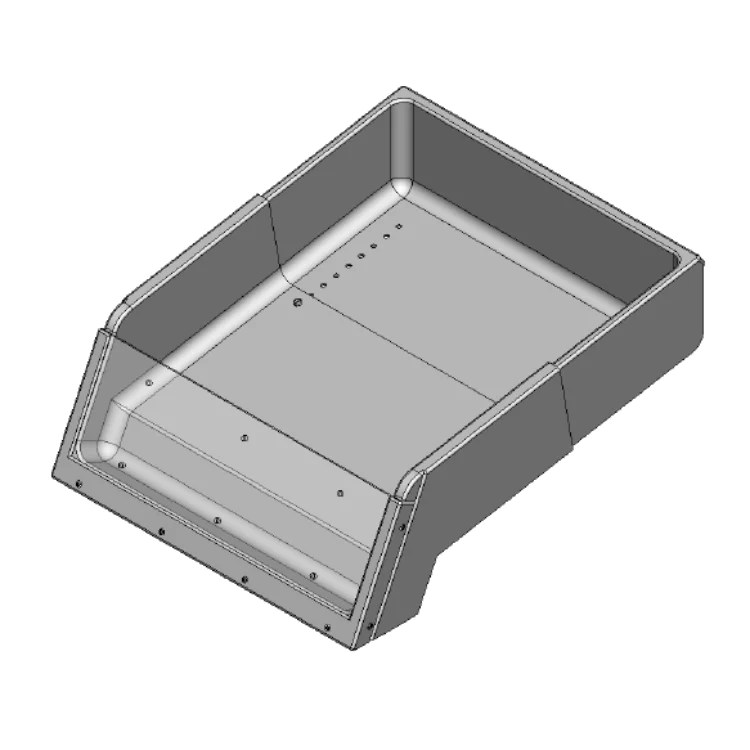 Produce Display Bin - VEG-202 #3 BK – The Marco Company