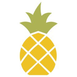 pineapple stencil molde abacaxi template stencils imprimir ananas clipart colorir desenho cut clip silhouette drawing printable paper accucut desenhos frutas