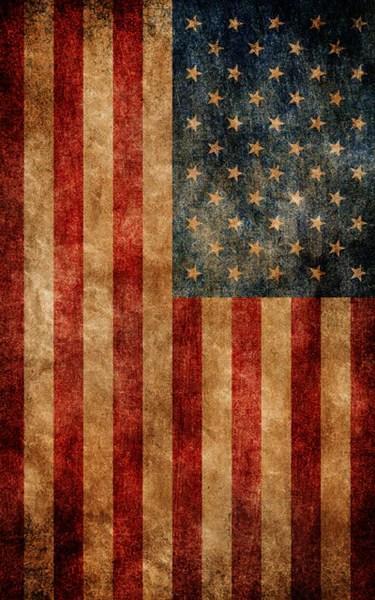 american flag backdrop
