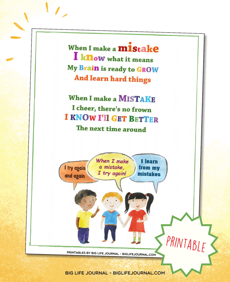 How To Teach Growth Mindset To Kids The 4 Week Guide