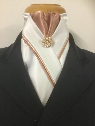 custom cream stock ties