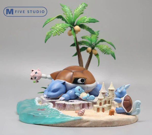 blastoise pokemon resin statue