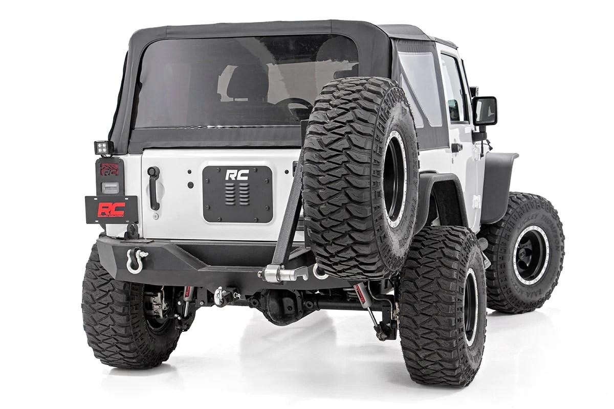 jeep tailgate vent spare tire mount delete wrangler jk jku  [ 1200 x 800 Pixel ]