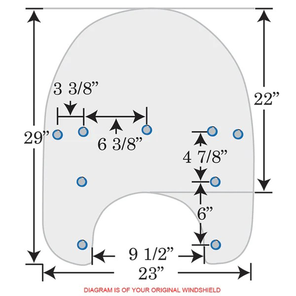 Replacement plastic for road king also windshields harley rh memphisshades