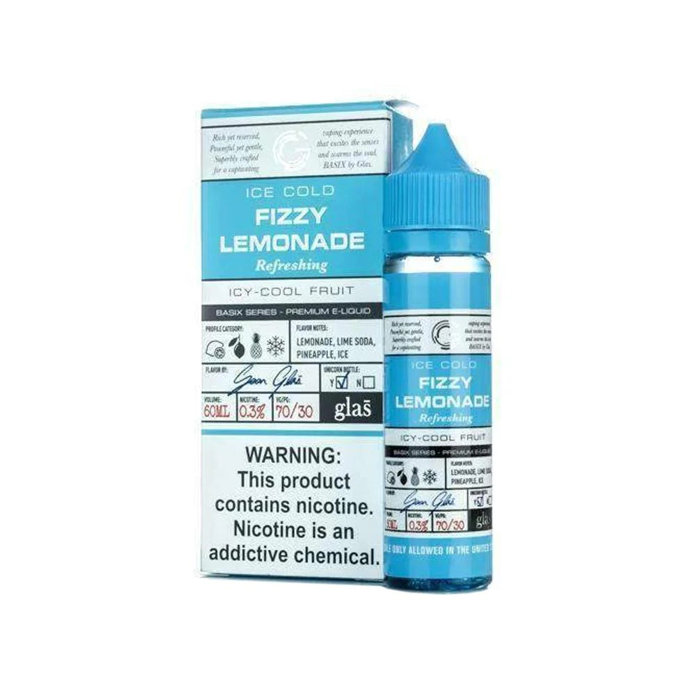 Glas Fizzy Lemonade Basix Series 60ml | E-Liquid | Vape Street