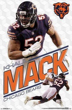 chicago bears posters sports poster